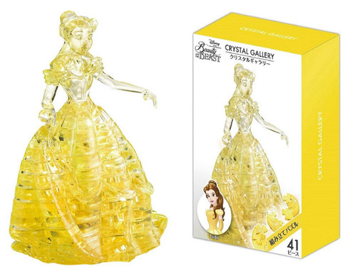 Hanayama Crystal Gallery 3D Puzzle Disney Beauty & the Beast Belle 4977513076067