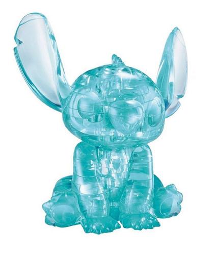 Hanayama Crystal Gallery 3D Puzzle Disney Stitch 4977513076180