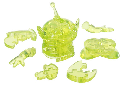 Hanayama Crystal Gallery 3D Puzzle Disney Toy Story Little Green Men Aliens 4977513076210