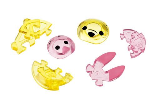 Hanayama Crystal Gallery 3D Puzzle Disney Pooh & Piglet 4977513065757
