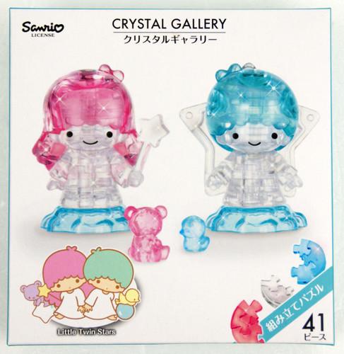 Hanayama Crystal Gallery 3D Puzzle Sanrio Little Twin Stars 4977513076319