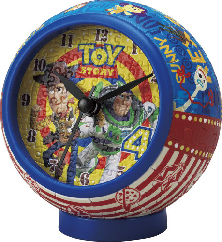 Yanoman 2401-06 Puzzle Clock Toy Story 4 American Pop (145 Pieces)