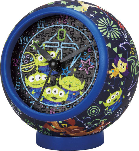 Yanoman 2401-07 Puzzle Clock Toy Story 4 Galaxy (145 Pieces)