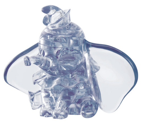 Hanayama Crystal Gallery 3D Puzzle Disney Dumbo 40 Pieces 4977513076395