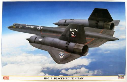 Hasegawa 01943 SR-71A BlackBird  ICHIBAN 1/72 Scale Kit
