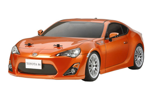 Tamiya 58530 Toyota 86 (TA06 Chassis) 1/10 Scale RC Car Series No.530
