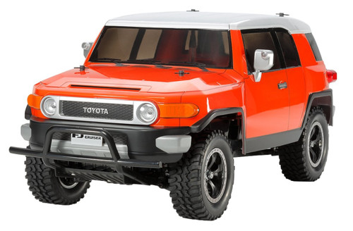 Tamiya 84401 Toyota FJ Cruiser Painted Orange Body Ver. Limited (CC-01 Chassis) 1/10 Scale RC Car Series
