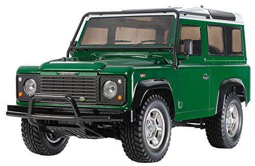 Tamiya 58657 Land Rover Defender 90 (CC-01 Chassis) 1/10 Scale RC Car Series No.657