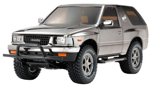 Tamiya 47383 Isuzu Mu Type X Black Metallic Special (CC-01 Chassis) 1/10 Scale RC Car Series No.83