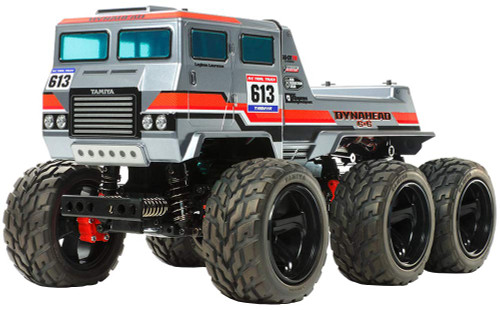 Tamiya 58660 Dynahead 6x6 (G6-01TR Chassis) 1/18 Scale RC Car Series No.660