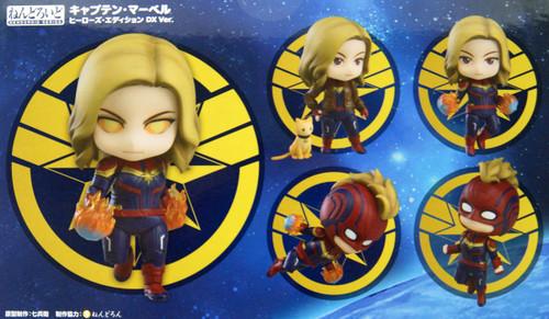 Good Smile Nendoroid 1154-DX Captain Marvel: Hero's Edition DX Ver.