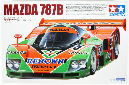 Tamiya 24352 Mazda 787B  1/24 scale kit