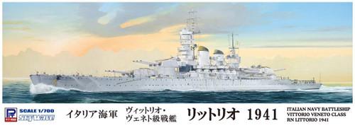 Pit-Road Skywave W196 Italian Battleship Littorio 1941 1/700 Scale Kit