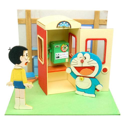 Sankei MP08-07 Doraemon Mini What-If Phone Booth (Moshimo Box) Non-Scale