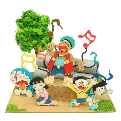 Sankei MP08-08 Doraemon Mini Gian Recital Non-Scale
