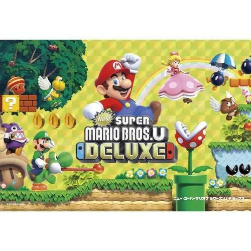 Ensky Jigsaw Puzzle 300-1547 Nintendo Switch Super Mario Bros. U Deluxe (300 Pieces)