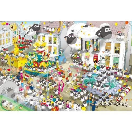 Ensky Jigsaw Puzzle 300-1549 Shaun The Sheep Carnival (300 Pieces)