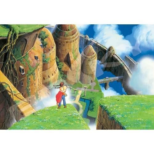 Ensky Jigsaw Puzzle 300-419 Laputa Castle In The Sky Ghibli (300 Pieces)