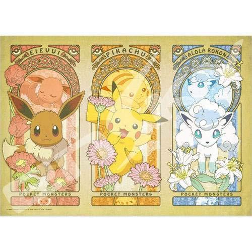 Ensky Jigsaw Puzzle 300-L554 Pokemon Pocket Monster & Flower (300 L-Pieces)