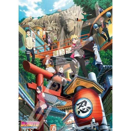 Ensky Jigsaw Puzzle 500-343 Naruto Next Generations BORUTO (500 Pieces)