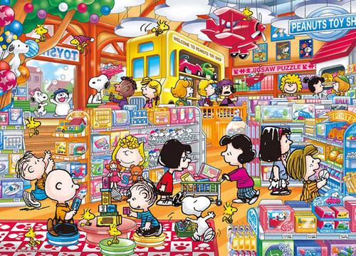 Epoch Jigsaw Puzzle 06-062s Peanuts Snoopy Toy Shop (500 Pieces)