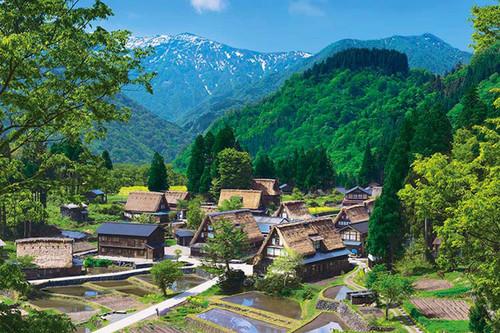 Epoch Jigsaw Puzzle 10-778 Japanese Scenery Gokayama Toyama (1000 Pieces)