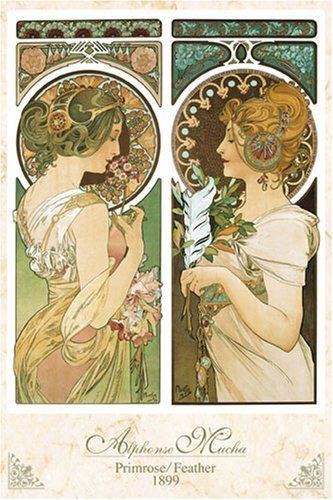 Epoch Jigsaw Puzzle 23-511 Alphonse Mucha Promise / Feather (2016 S-Pieces)