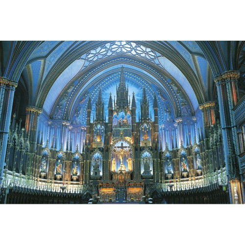 Epoch Jigsaw Puzzle 23-562 Notre-Dame Basilica (Montreal) (2016 S-Pieces)