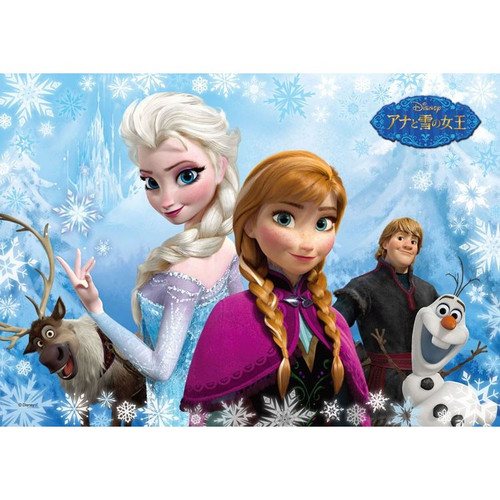 Tenyo Japan Jigsaw Puzzle D-108-750 Disney Frozen (108 Pieces)