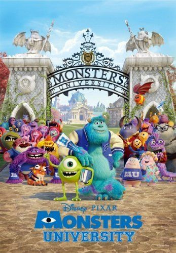 Tenyo Japan Jigsaw Puzzle DSG-500-444 Disney Pixar Monsters University (500 Pieces)