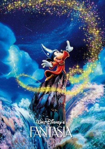 Tenyo Japan Jigsaw Puzzle DW-1000-396 Disney Mickey Fantasia Dream (1000 S-Pcs)