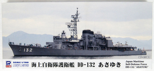 Pit-Road Skywave J-78 JMSDF Destroyer DD-132 ASAYUKI 1/700 Scale Kit