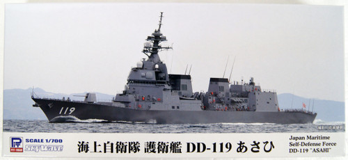 Pit-Road Skywave J-82 JMSDF Destroyer DD-119 ASAHI 1/700 Scale Kit