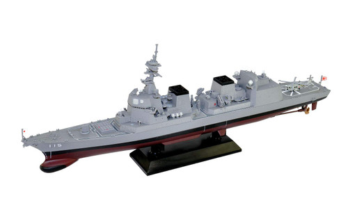 Pit-Road Skywave JP13 JMSDF Destroyer DD-115 Akizuki Pre-Painted Kit 1/700 Scale Kit