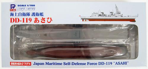 Pit-Road Skywave JP-14 JMSDF Destroyer DD-119 Asahi Pre-Painted Kit 1/700 Scale Kit