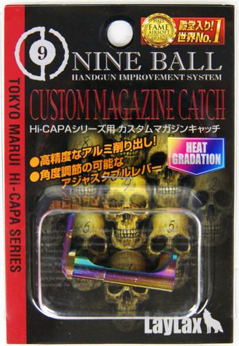 Laylax Nine Ball Custome Magazine Catch Heat Gradation for Tokyo Marui Hi-CAPA