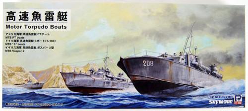 Pit-Road Skywave SW02 UK US GER High Speed Torpedo Boat 1/700 Scale Kit