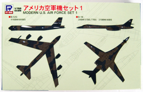 Pit-Road Skywave S46 Modern U.S. Air Force Set 1 1/700 Scale Kit