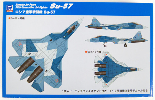 Pit-Road Skywave SN21 Russian Air Force Fifth-Generation Jet Fighter Su-57 1/144 Scale Kit