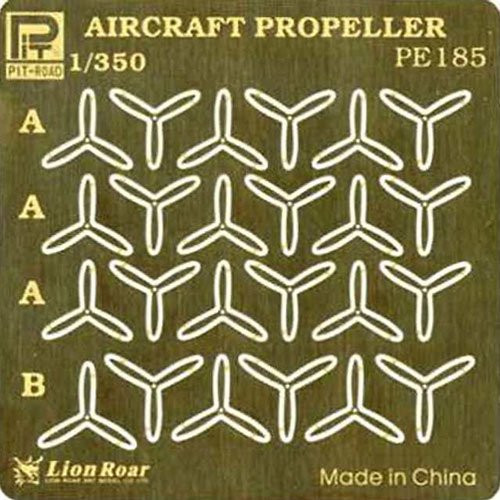 Pit-Road PE185 IJN Aircraft Propeller Photo-Etched Parts 1/350 Scale