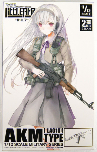 Tomytec LA010 Military Series Little Armory AKM Type 1/12 Scale Kit