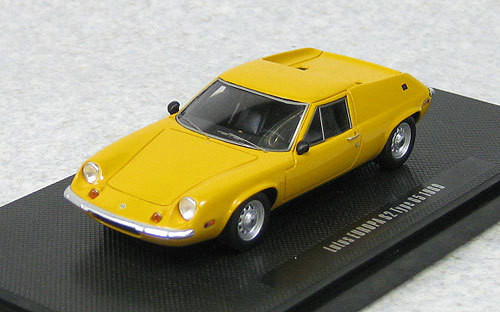 Ebbro 44205 Lotus Europa S2 Type 65 1969 Brown Mustard Yellow (Resin) 1/43 Scale