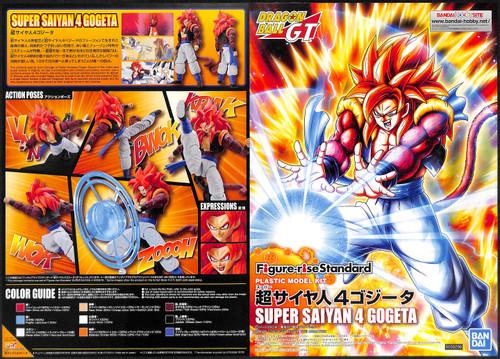 Bandai Figure-Rise Dragon Ball Super Saiyan 4 Gogeta Plastic Model Kit