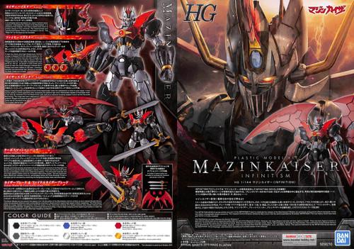 Bandai HG Mazinkaiser (Infinitism) 1/144 Scale Plastic Model Kit