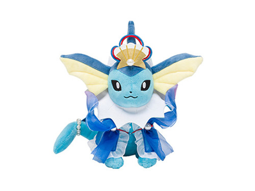 Pokemon Center Original Plush Doll Oceanic Operetta Vaporeon (Showers)
