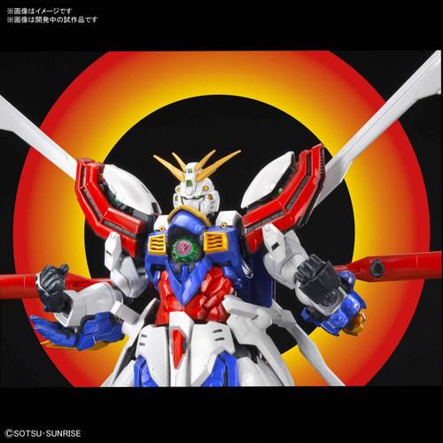 Bandai Hi-Resolution Model Mobile Fighter G Gundam God Gundam 1/100 Scale Kit