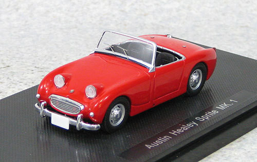 Ebbro 44456 Austin Healey Sprite Mk.I Red 1958 (Resin) 1/43 Scale