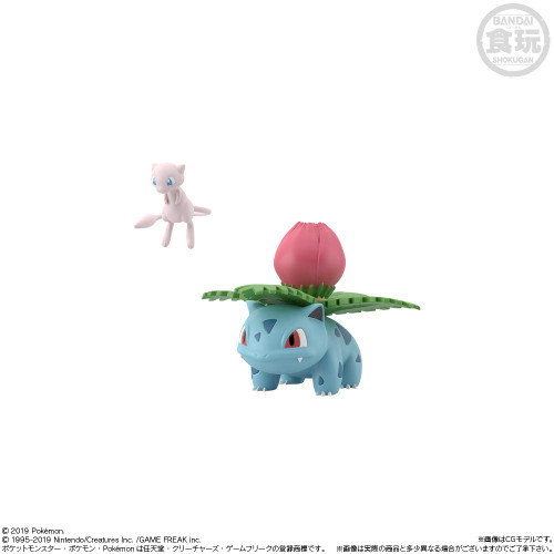Bandai Candy Pokemon Scale World Kanto Figure 1 Box 10 Pcs