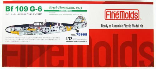 Fine Molds 75998 Messerschmitt Bf 109 G-6 Hartmann 1943 1/72 Scale Kit