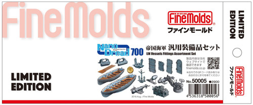 Fine Molds 50005 Nano Dread IJN Vessels Fitting Assortment Set 1/700 Scale